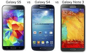 android phone samsung samsung galaxy s5 vs galaxy s4 vs note 3 android phone specs