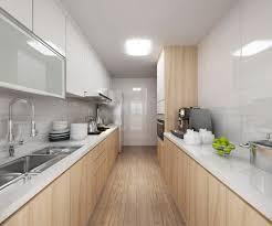 comment am駭ager une cuisine en longueur comment aménager une cuisine en longueur poalgi