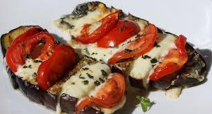 cuisiner une aubergine antipasti aubergine gratinée à la mozarella envie de cuisiner