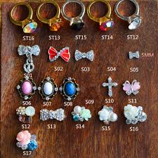 nail charms rings reviews online shopping nail charms rings