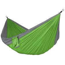 apriller double portable camping hammock 65