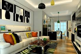 Interior Partition Modern Minimalist Interior Design With Partition 3d House