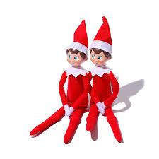 christmas elves 35cm on the shelf doll plush christmas elves