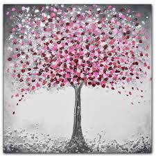 cherry blossom tree original painting by amanda dagg