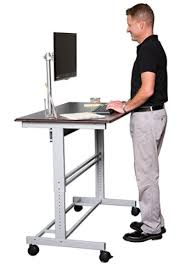 Rolling Stand Up Desk The Best Sit Stand Desk For Sale Online Top 25 Reviewed Furnsy