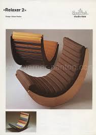 Relaxer Chair Catalogue Verner Panton