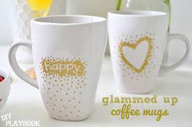 Gold Coffee Mug A Gold U0026 Glamorous Brunch Diy Playbook