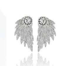wing earrings angel wing earrings hyperion