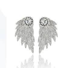 angel wing earrings angel wing earrings hyperion