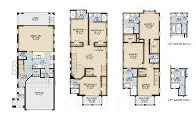 Townhouse Designs And Floor Plans Lakeside At Toscana New Construction Luxury Homes In Dr Phillips