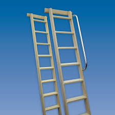 Bunk Bed Library Shelf Ladders  Specialist  Ladders R Us Home - Ladders for bunk beds