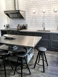 stainless steel kitchen island table 25 best stainless steel island ideas on stainless