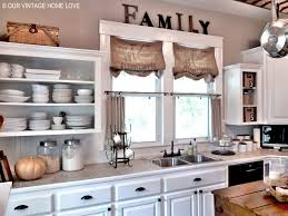 window treatments for kitchens our vintage home inexpensive window treatments a roman shades for