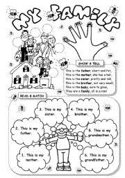 free worksheets my family for your worksheet with free worksheets