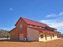 Rustic Barn Homes Texas Rustic Barn Home Living Rustic Exterior Other By
