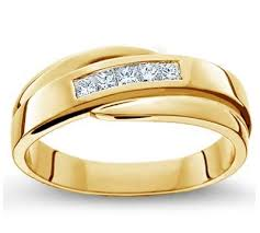 gold wedding bands for men comfort fit men s wedding ring in 18k white gold or yellow gold g