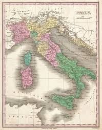 Map Of Italy by File 1827 Finley Map Of Italy Geographicus Italy Finley 1827
