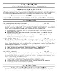 Bank Manager Sample Resume Accounting Manager Resume Examples Resume