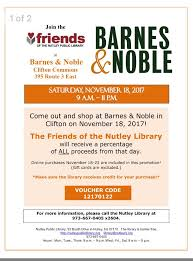 Barnes And Noble Route 3 Nj The Nutley Free Public Library Home Facebook