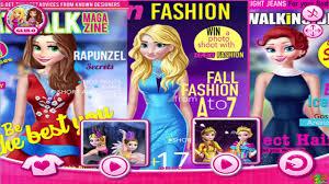 princesses catwalk magazine game disney princess video games for