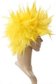 Vegeta Halloween Costume 40cm Yellow Dragon Ball Vegeta Super Saiyan Nylon Cosplay Wig