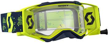 scott prospect motocross goggle 2018 2018 scott prospect wfs goggle yellow black scott motocross goggles