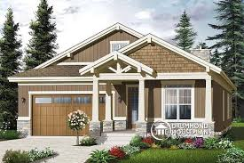 narrow cottage plans plan of the week craftsman gem for narrow lots drummond