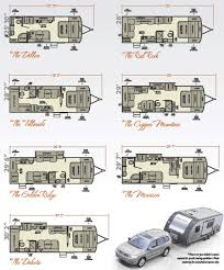 cikira retro lite small travel trailer floorplans trailer art 2016