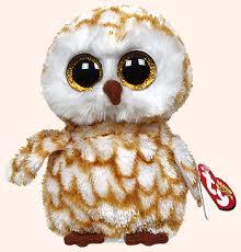swoops barn owl ty beanie boos toys beanie