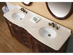 Cherry Bathroom Vanity by Fresh Wonderful 60 Inch Cherry Bathroom Vanity 10009