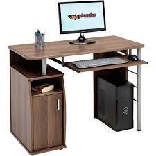 modern computer table cheap office computer desk computer desk with printer storage