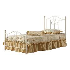Hillsdale Bedroom Furniture by Shop Hillsdale Furniture Westfield Off White Bed Frame At Lowes Com