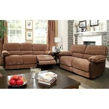 Chenille Reclining Sofa Furniture Of America Hazel Mocha Brown 2 Chenille
