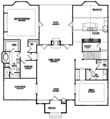 country homes floor plans pocket office house plans best floor plans with pocket offices
