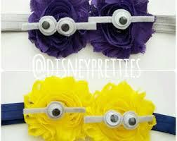 minion ribbon purple minion bow etsy