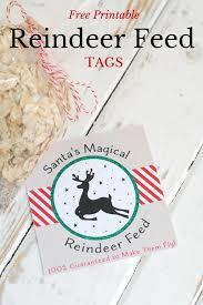 free printable reindeer activities free printable reindeer feed tag free printable christmas svg and