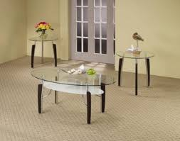 2017 latest glass coffee table sets