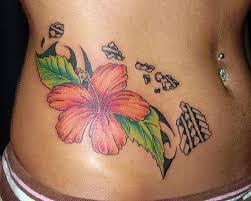 hawaiian flowers tattoo tattoo collections