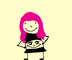 is there pink hair in roblox roblox oof