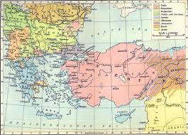 Map Of Ancient Greece Greece And Asia Minor Map