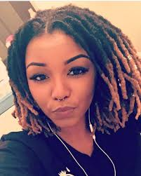 dreadlocks hairstyles for women over 50 shoulder length colored locs naturalhairlove pinterest