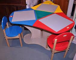 duplo table with chairs genuine kids wood table chairs preschool play duplo blocks