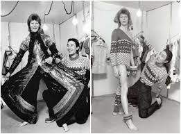 Japanese Designer by April 1973 David Bowie U0026 Japanese Fashion Designer Kansai