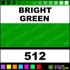 Light Green Paint Colors by Bright Green Bisque Ceramic Paints 512 Bright Green Paint