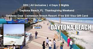 discount daytona florida thanksgiving weekend getaway