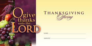 thanksgiving offering offering envelopes church supplies