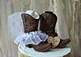 western wedding cake topper western cowboy boots wedding cake topper western wedding western