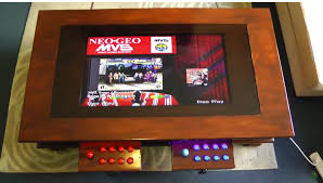 hide an arcade machine in your coffee table make
