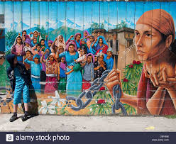 wall mural and boy mission district san francisco stock photo stock photo wall mural and boy mission district san francisco