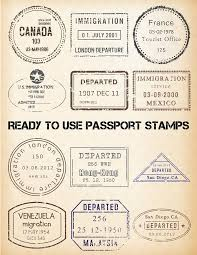 images of free printable passport stamps sc